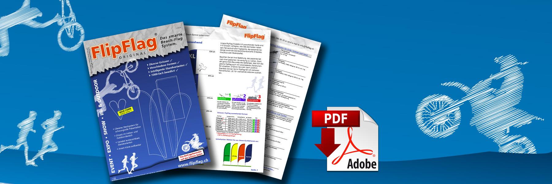 FlipFlag.ch - Der Beachflag Katalog als PDF