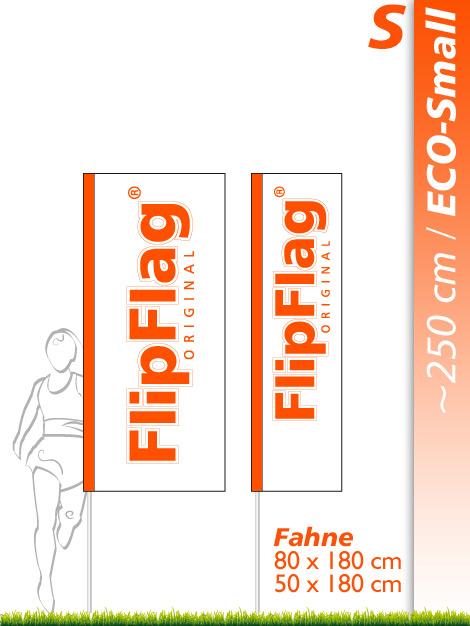FlipFlag.ch - Eco Small Fahne