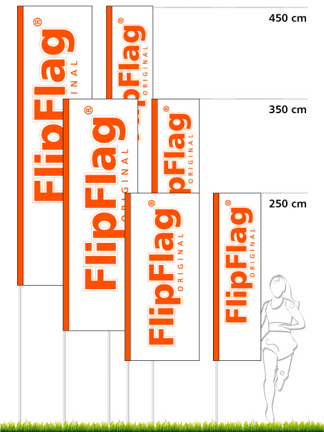 FlipFlag.ch - Eco Fahnenformate