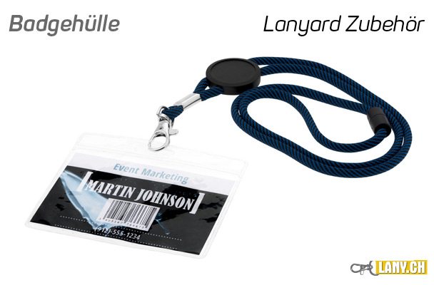 lany.ch - Ausweishülle / Badgehülle für Lanyards