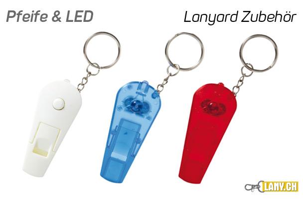 Lany.ch - Pfeife mit LED Licht