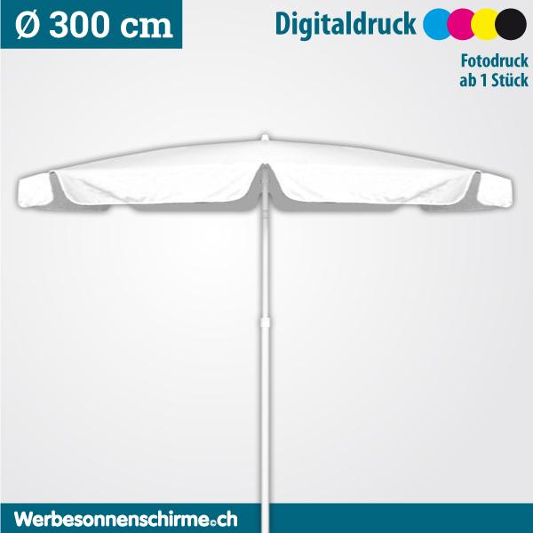 Sonnenschirm Digitaldruck Ø 300 cm